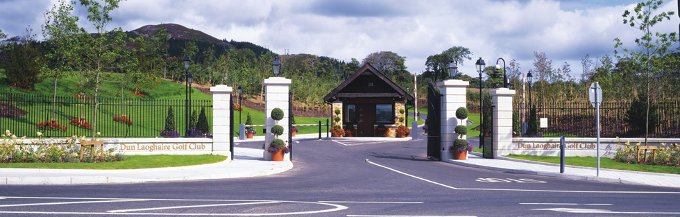 Dun Laoghaire Golf Club Front Entrance